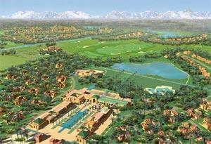 Consécration de Samanah Country Club