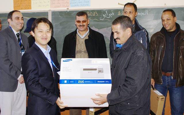 Samsung Maroc encourage l éducation dans le milieu rural