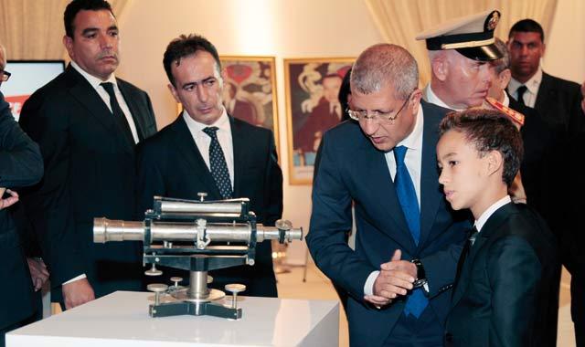 Le Prince Moulay El Hassan, invité de marque du cinquantenaire de l ONCF