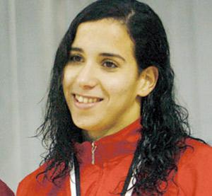 Sara El Bekri offre une médaille d'argent au Maroc