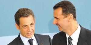 France : Sarkozy lâche Al Assad