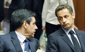 Sarkozy et Fillon se taclent sur le chômage et la croissance