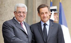 Nicolas Sarkozy adoube Abbas avec l'Etat palestinien