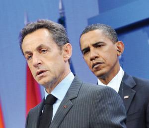 Les émotions américaines de Nicolas Sarkozy