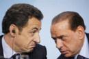 Nicolas Sarkozy et Silvio Berlusconi parlent immigration tunisienne