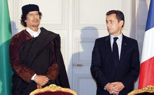 Mouammar Kadhafi fait faux bond à Nicolas Sarkozy