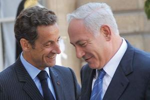 Entre Nicolas Sarkozy et Benyamin Netanyahu, l'état palestinien