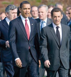 Sarkozy et Obama, entente presque cordiale