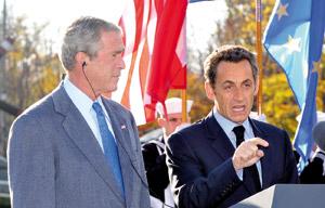 Nicolas Sarkozy propose un sommet comme thérapie à la crise
