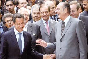 L'appel de Nicolas Sarkozy à Jacques Chirac