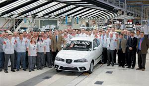 Seat : Six millions de véhicules à Martorell