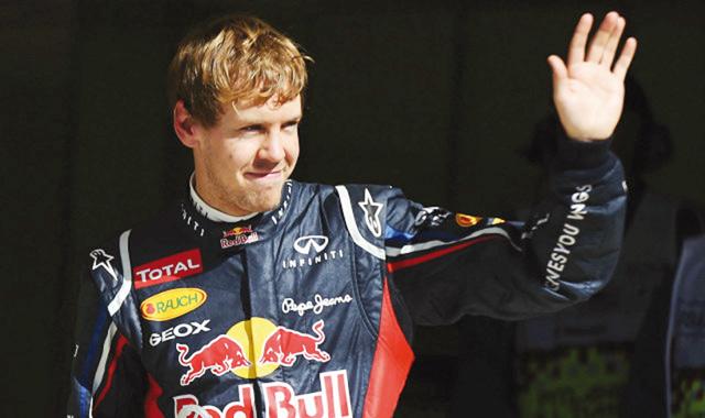 Formule 1: 13ème victoire consécutive pour Vettel!