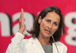 Ségolène Royal élue meilleure opposante à Nicolas Sarkozy