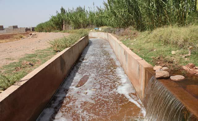 Bilan d un conflit autour d une source d eau