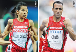 Dopage : la FRMA sanctionne Jamal Chatbi et Meriem Selsouli