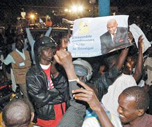 Sénégal : la victoire de Wade se confirme