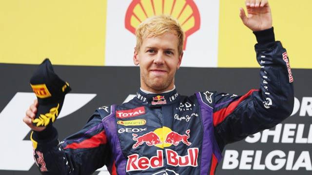 Grand Prix de Belgique : Sebastian Vettel triomphe