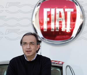 Marchionne mécontent de l'absence de rentabilité de Fiat en Italie