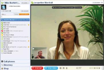 Skype 4.0 met le cap sur la vidéo plein écran