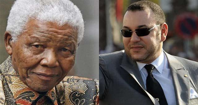 SM le Roi rend hommage à Nelson Mandela