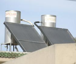 Surchauffe dans le solaire