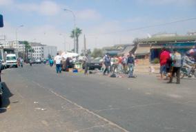 Casablanca : chienne de vie à Souk Drissia