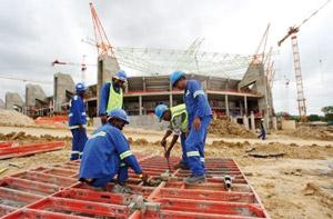 Menace de grève dans les stades du Mondial-2010