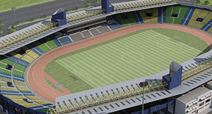 Stade de Franceville au Gabon