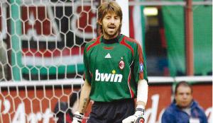 Le gardien Marco Storari, de l'AC Milan à la Juventus