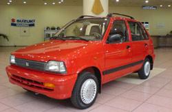 Suzuki Maroc lance la Maruti-Suzuki 800