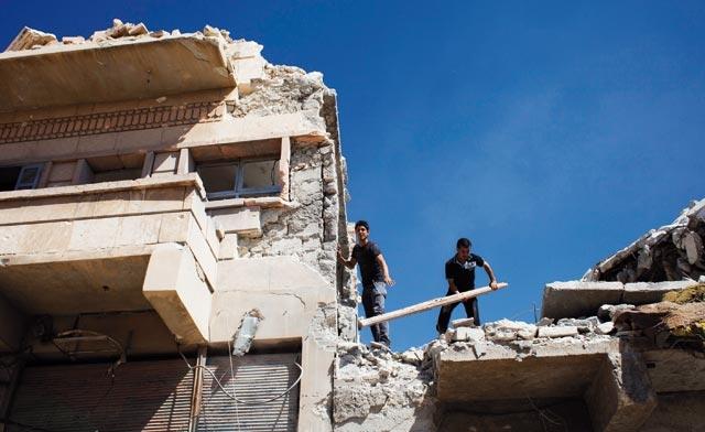 Syrie : Un mois d août le plus meurtrier en 17 mois de révolte