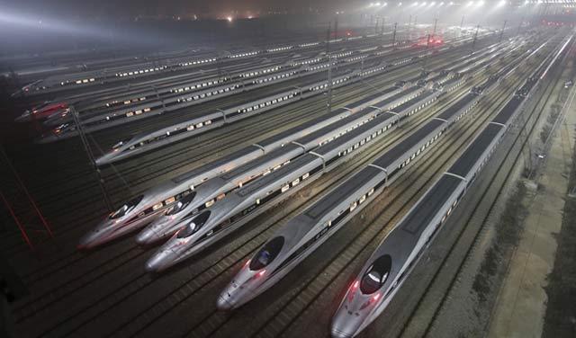 Chine : Plus grande ligne de TGV dans le monde