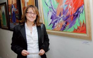 Bouchra Tadili : «Mes toiles reflètent mon état d'âme devant des situations sociales»