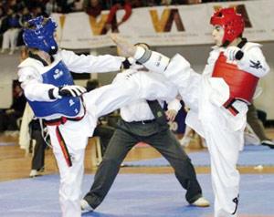 Les taekwondoïstes nationaux dans la ligne de mire