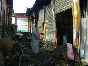 Tanger : Casabarata ravagé par un incendie
