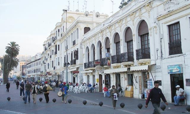 Le tourisme interne en pompier à Tanger