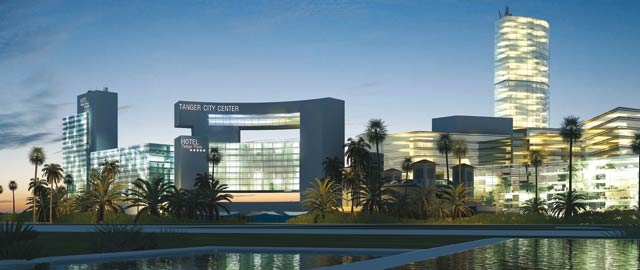 Commercialisation de 68 appartements de luxe du Tanger City Center