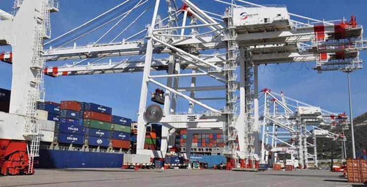 Tanger-Med-conteneurs-Export-Import