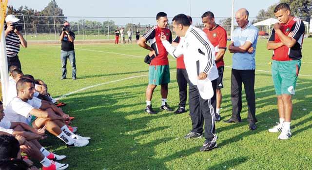 L équipe nationale poursuit ses préparatifs à Johannesburg : Séance de décrassage pour les Lions de l Atlas