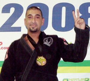 Targuisti, médaillé d'or aux Championnats internationaux du Jiu-JitSu brésilien