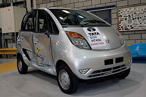 Tata Nano : Le crash-tests surprise