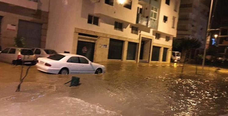 Un mort et beaucoup de dégâts à Tétouan: Les pluies font leurs premières victimes