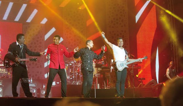 The Jacksons à Mawazine : Michael, tu nous as manqués  mardi à l'OLM Souissi !