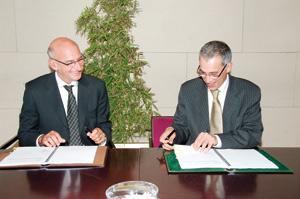 Signature d'un partenariat entre Accor Gestion Maroc et la CDG