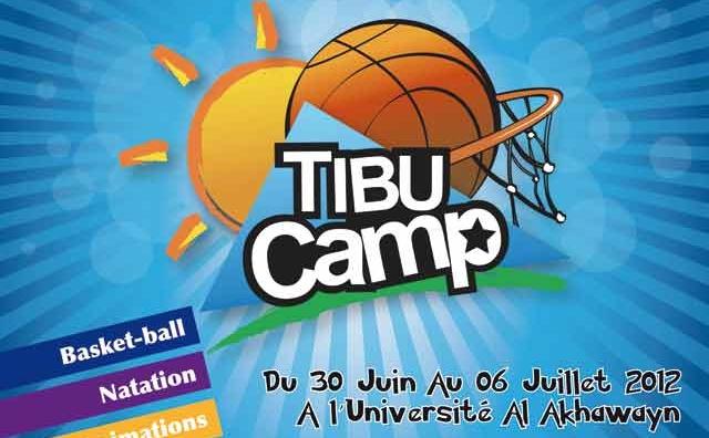 TIBU Camp,  une colonie de  vacances très sport