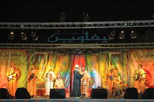 Tafraout : Clôture de la troisième édition du festival  «Tifawin »