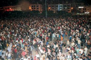 Grande foule pour Timitar