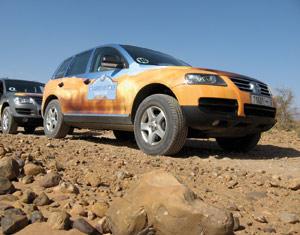 VW Touareg VIP Tour : Un 4×4, deux challenges