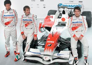 Toyota TF108 : Obligatoirement née pour la gagne