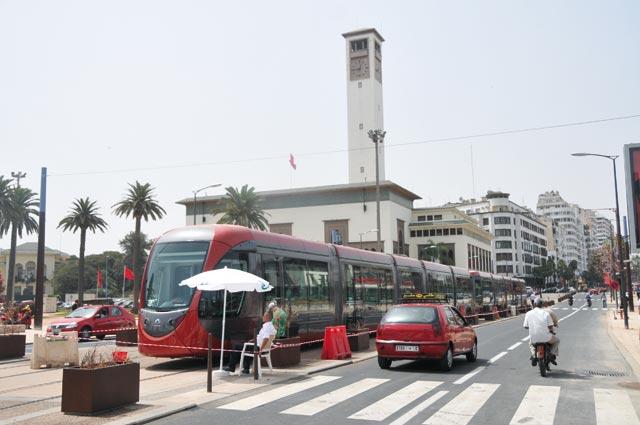 Casa Tram : Le trafic du tramway perturbé à la suite d'une tentative de suicide